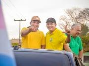 Joselândia vestiu a camisa verde e amarela na grande carreata em apoio a candidatura de Laércio Alves