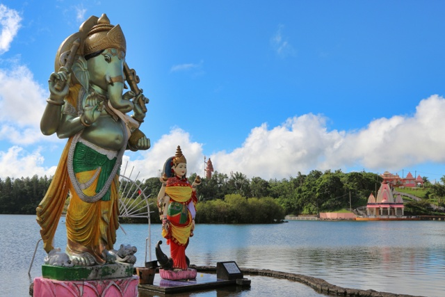 Grand Bassin Ganga Talao, el lago sagrado de Isla Mauricio