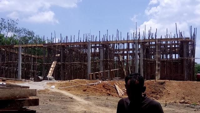 Diduga Proyek BPM di Bangun Asal Jadi