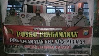 Polres Pelabuhan Makassar Perketat Penjagaan PPK Kepulauan Sangkarrang