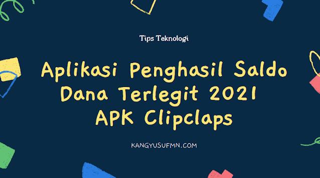 Aplikasi Penghasil Saldo Dana Terlegit 2021