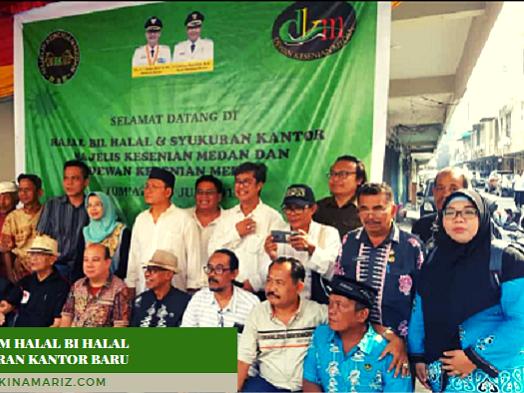 Majelis dan Dewan Kesenian Medan Gelar Halal bi Halal dan Syukuran Kantor Baru