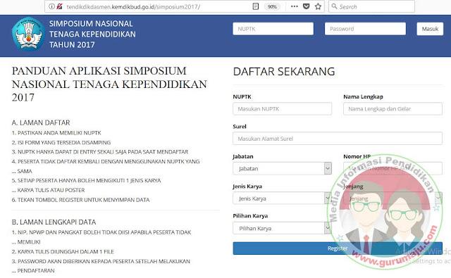 SIMPOSIUM TINGKAT NASIONAL KEPALA SEKOLAH DAN PENGAWAS SEKOLAH TAHUN 2017