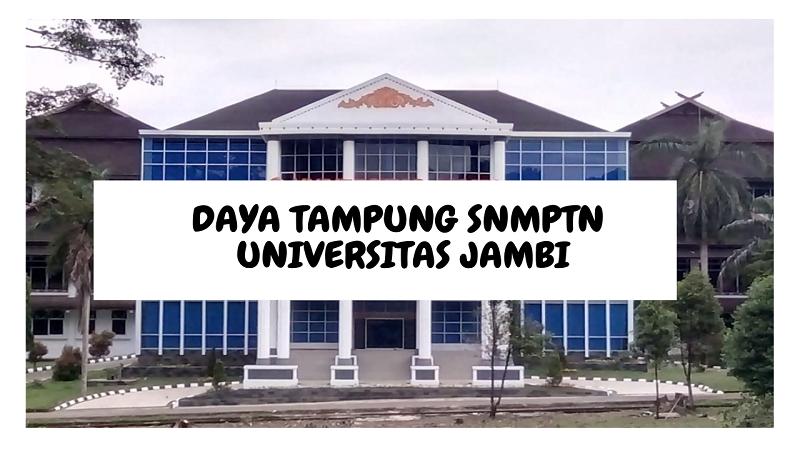 Daya Tampung SNMPTN UNIB 2022/2023 (Universitas Jambi)