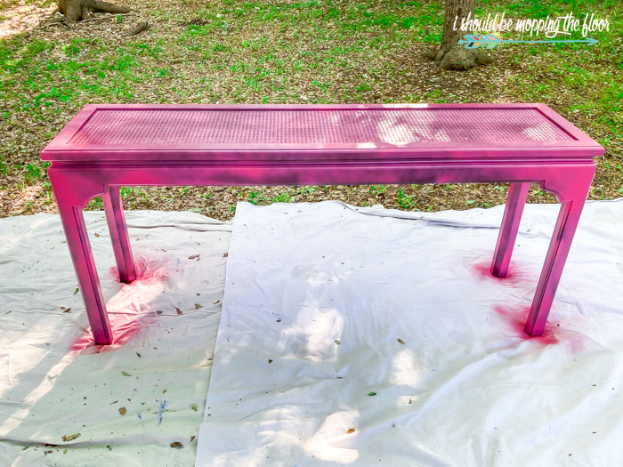 Spray Painting Caning