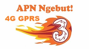 Setting/Pengaturan APN 3 4G GPRS