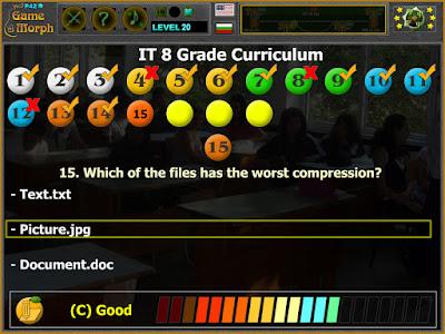 8 IT Curriculum Test