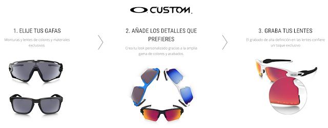 información de Gafas Personalizadas Oakley