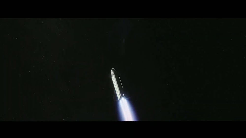 SpaceX's Starship heading for deep space