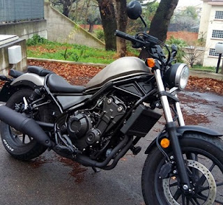 pabrik honda retro Honda Rebel CMX 500 Baru