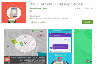 find a stolen mobile with IMEI number