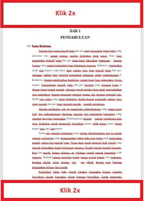 Cara membuat nomor halaman atas bawah di word