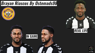PES 2021 Faces Brayan Riascos by Ostemads98