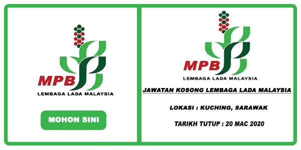 Jawatan Kosong Lembaga Lada Malaysia Ambilan Mac 2020