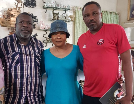 nollywood visits eucharia