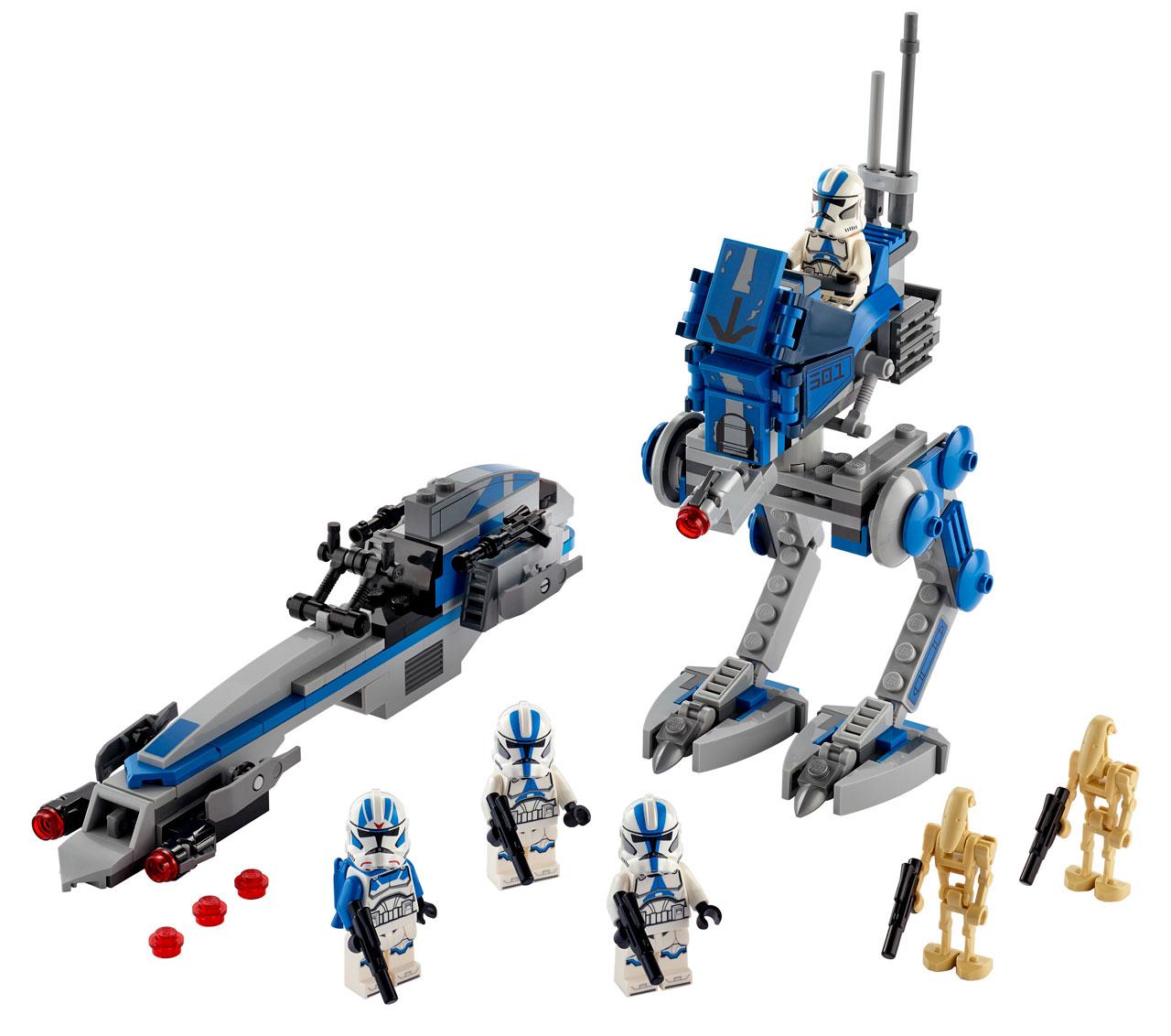 75280 第501大隊クローン・トルーパー・バトルパック:レゴ(LEGO) スター・ウォーズ