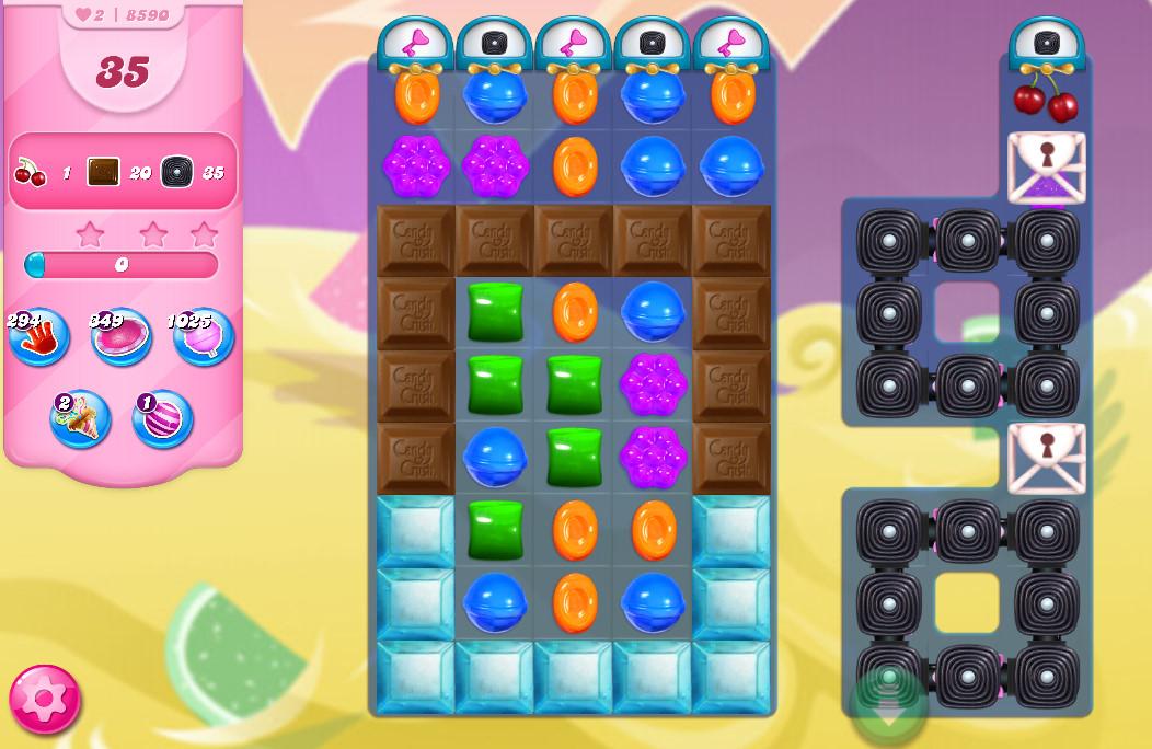 Candy Crush Saga level 8590