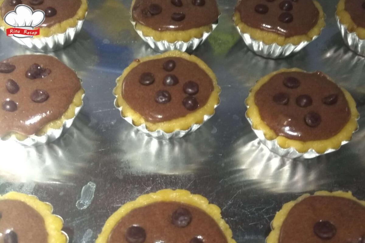 Resep Kue Pie Cokelat Almond Rinaresep.com
