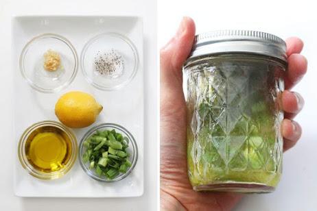 light lemon vinaigrette