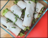 Easy Skinny Turkey Roll-ups with Fresh Veggies
