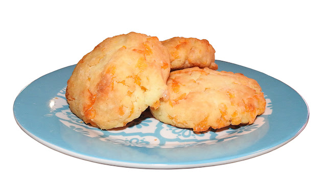 Some cheese biscuits made up from the Aldi's gluten free baking mix.