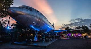 Το αεροπλάνο που έγινε εστιατόριο