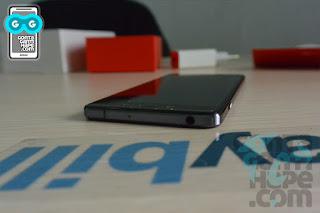 OnePlus X - Sisi atas