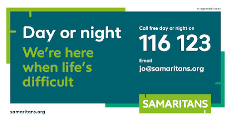 Samaritans are open day or night 116 123