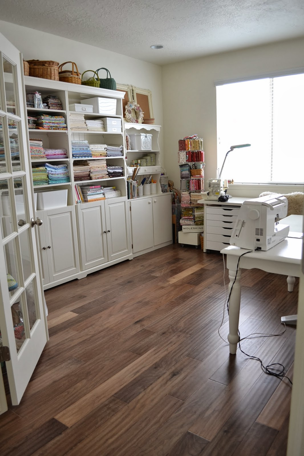 Sewing Room Designs: Tea Rose Home: My Sewing Room Tour
