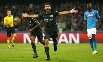 Highlight Napoli 2-4 Manchester City, 01 November 2017