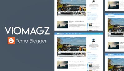 Viomagz Template Blogger Terbaik