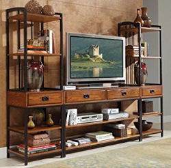 Craftsman Style Entertainment Center