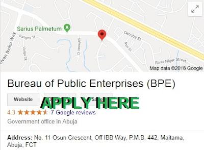 Bureau of Public Enterprises Recruitment 2018/2019 | Full Details On Job Requirement