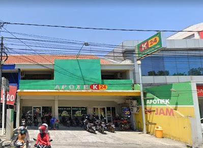 Daftar Alamat dan Nomor Telepon Apotek K-24 di Surabaya Lengkap dengan Rute Google Map