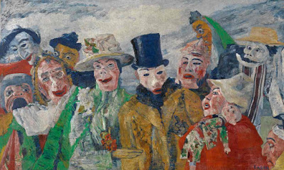 James Ensor - L'intrigue,1890.