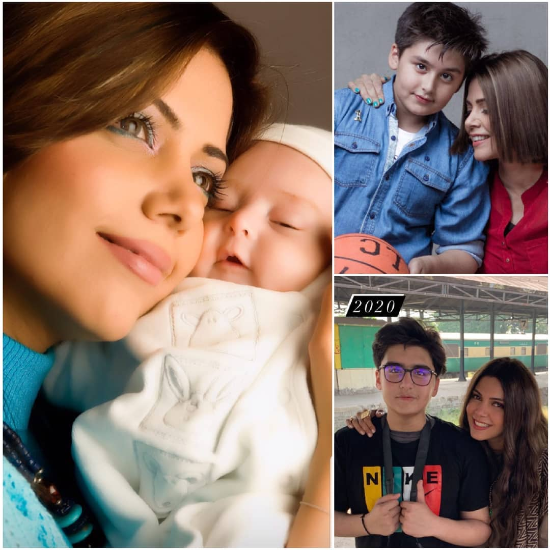Hadiqa Kiyani Pictures with her Son Nadaay Ali on his Birthday