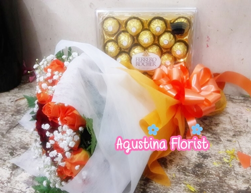 buket mawar valentine surabaya