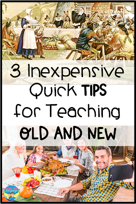 3 inexpensive quick tips for fun movement activities in speech/language therapy for Thanksgiving and year round!