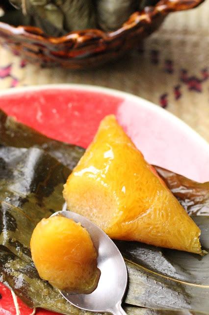 kansui joong zongzi préparation