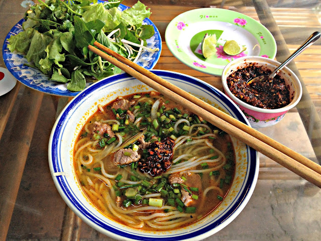 Hue-Style Beef Noodle Soup (Bún Bò Huế)