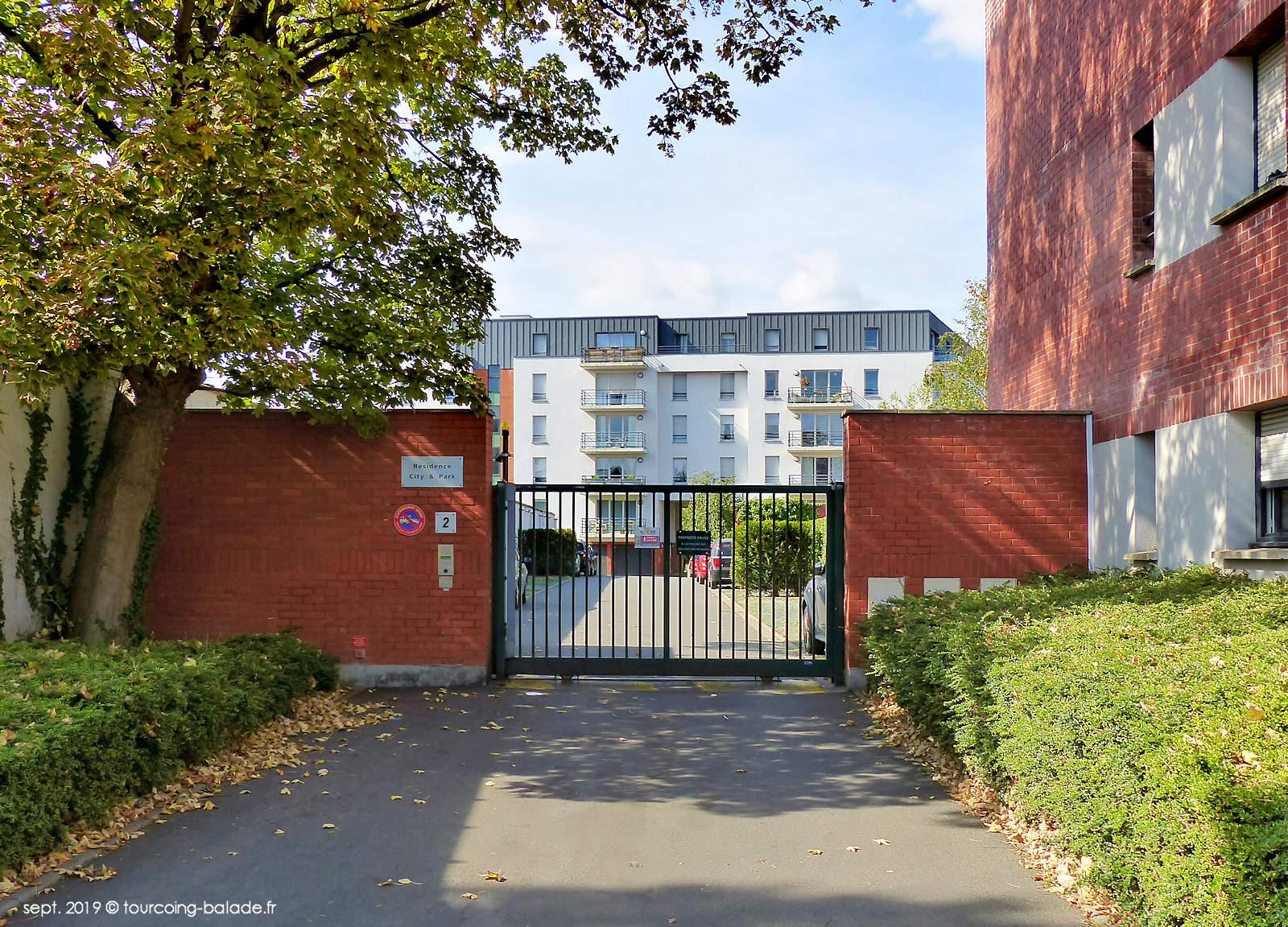 Résidence City & Park, Tourcoing - Côté Quai de Cherbourg