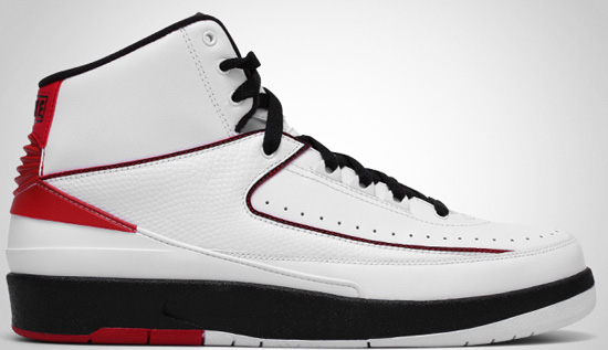 539bd67f1c47 Air Jordan 2 Retro QF (05 22 2010) 395709-101 White Black-Varsity Red   135.00