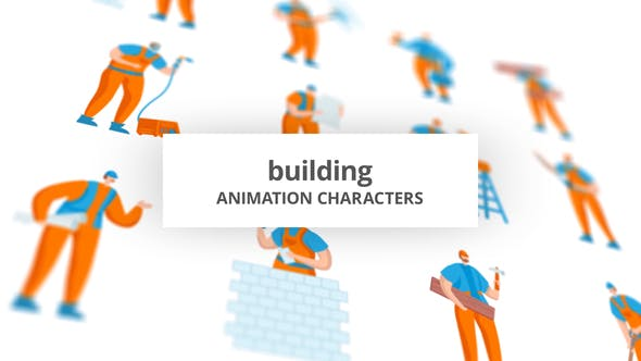 Building – Character Set[Videohive][After Effects][29102405]