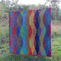 Batik interleave quilt