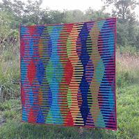 Batik interleave quilt