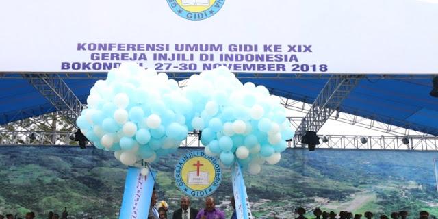 Gubernur Papua Buka Konferensi GIDI Ke – XIX