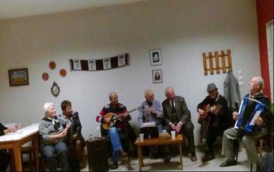 Εκδήλωση για το Πολυτεχνείο στο Γ' ΚΑΠΗ του Δήμου Λαρισαίων (ΦΩΤΟ)