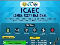 Lomba Menulis Esai Nasional ICAEC 2020