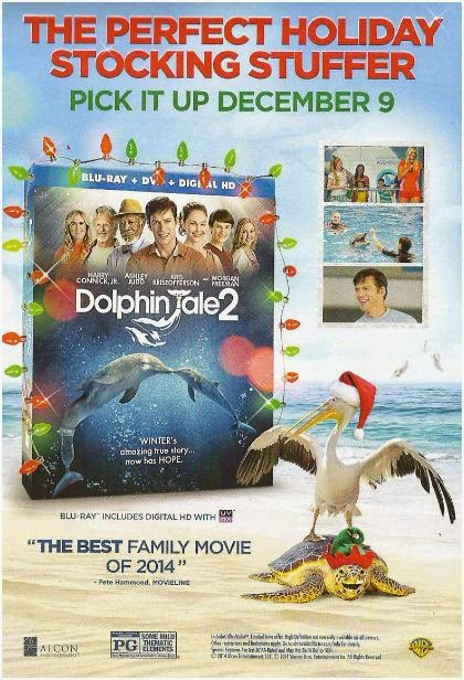 Life Is A Sandcastle Holiday Must Have Dolphin Tale 2 Blu Ray