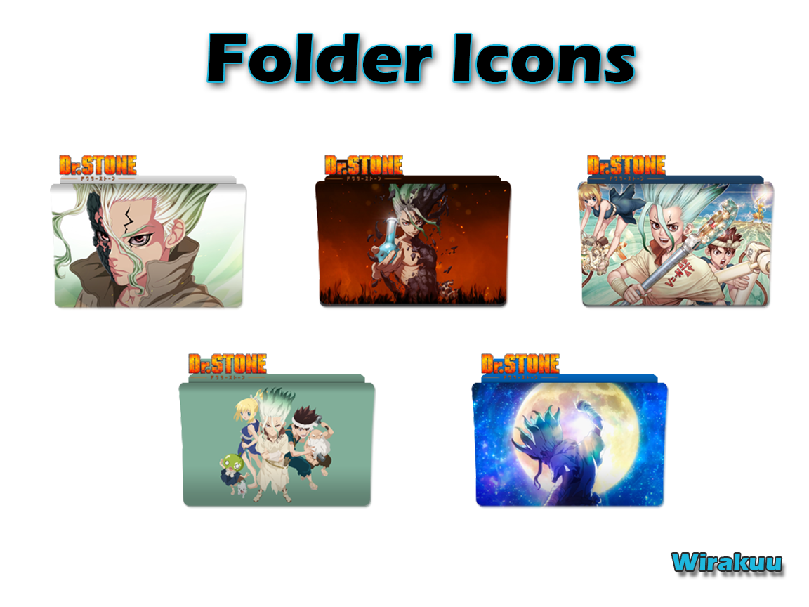 Download Folder Icons Anime Dr.Stone